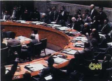 Vote de l'ONU