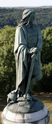 Statue de Vercingetorix à Alise-Sainte-Reine